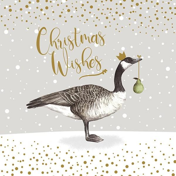6 Charity Christmas Cards - Geese