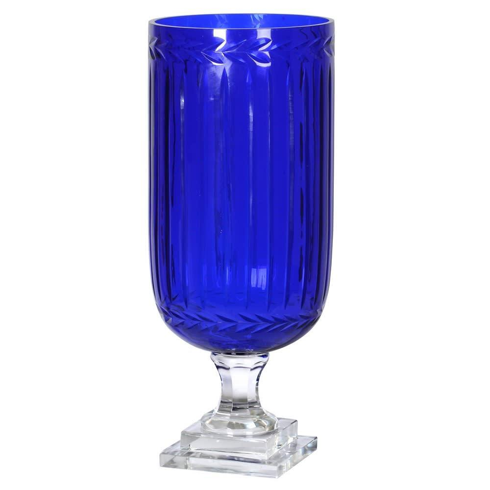 Martinique Cut Glass Hurricane - Barnbury