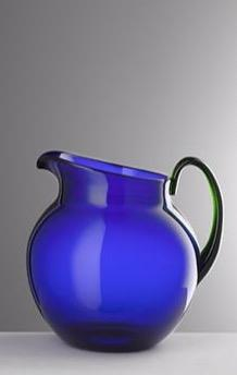 Blue and Green Pallina Pitcher - Barnbury