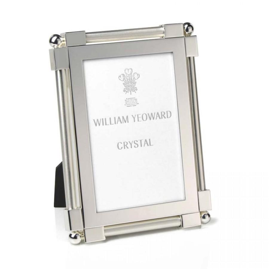 "William Yeoard Classic Platinum Photo Frame 4"" X 6"" - Barnbury"