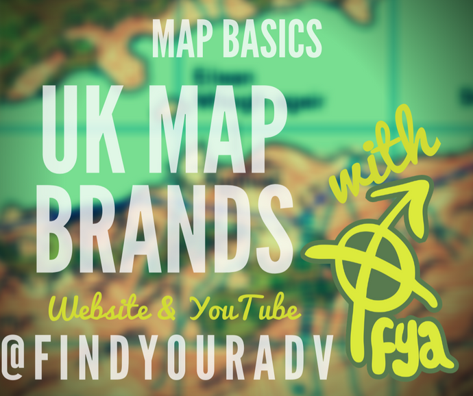 Map Basics - UK Map Brands