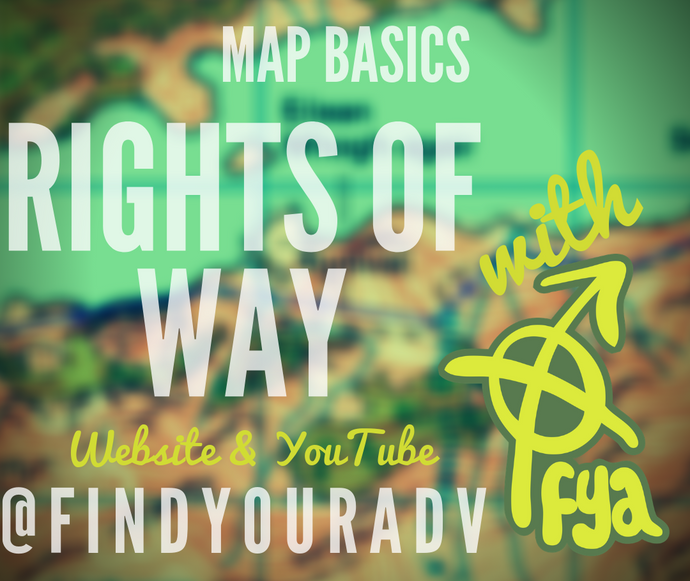 Map Basics - Rights of Way