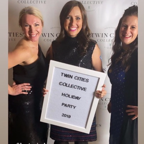 Kat Minks, Suzy Simonson & Jenny Bader at Twin Cities Collective Awards ceremony in 2019