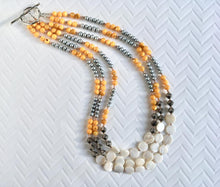 Mulit-Color Multi-Strand Necklace