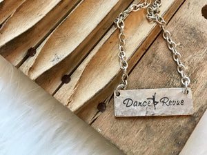 Customized Bar Necklace