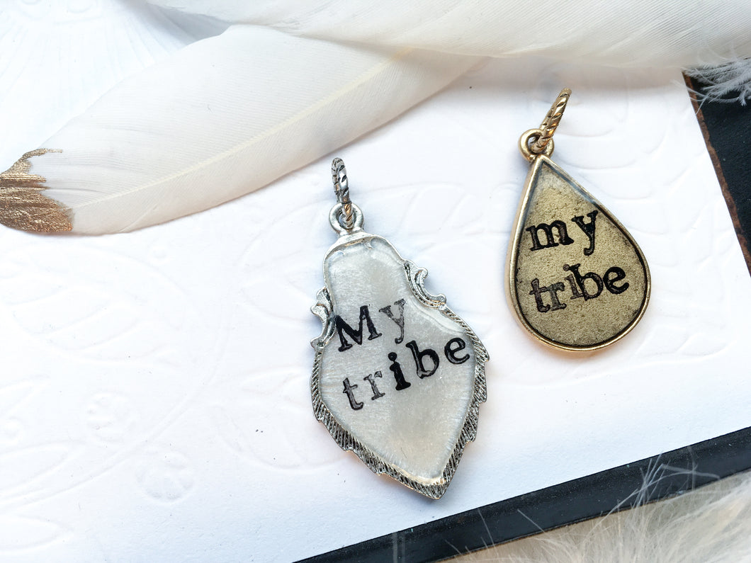 My Tribe Teardrop Charm