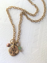 """Let It Be"" Necklace"