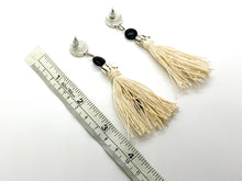 Metallic Tassel Earrings