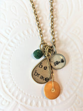 personalized necklace with a date