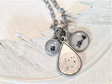 zodiac necklace personalized