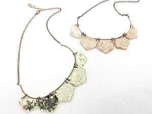Glimmers of Light Statement Necklace