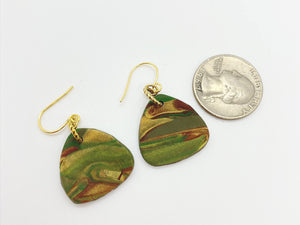 Camouflaged Earrings