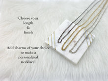 Build Your Own Necklace - Cable Chain