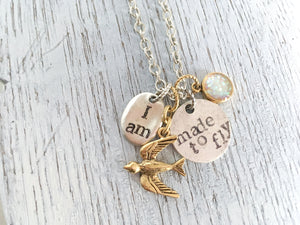 I am Made to Fly Necklace (Supporting PPSM)