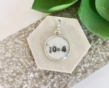 add on year, date, or number charm