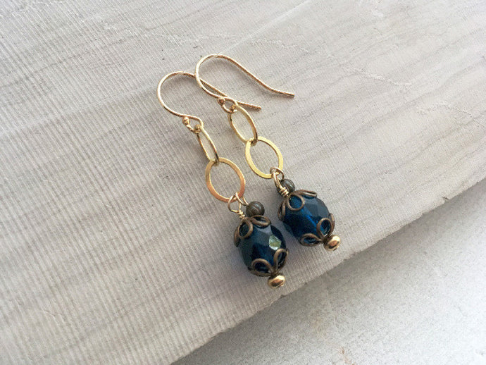 Royal Blue Earrings