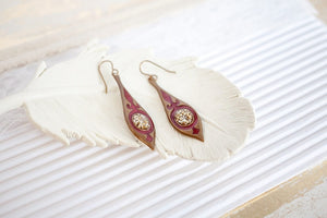 Red Party Earrings