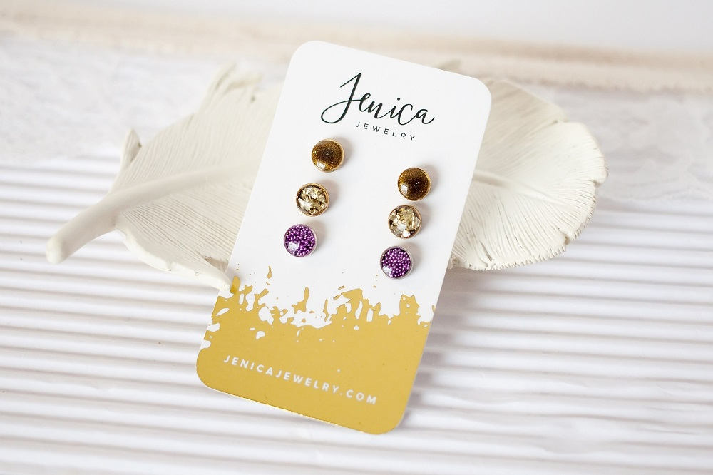 Tiny Stud Earring Set