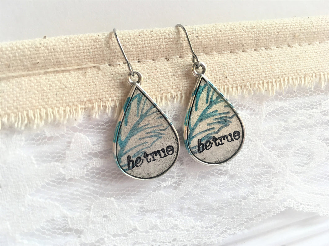Be True Teardrop Earrings