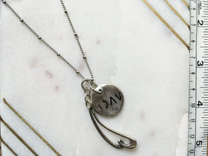 I am Greater Than My Highs and Lows Necklace