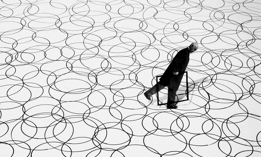 gilbert garcin black and white photography