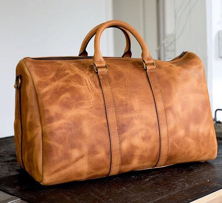 Ares Duffel with Dublin Leather Upgrade