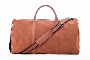 Ares Duffel with Crazy Horse Leather