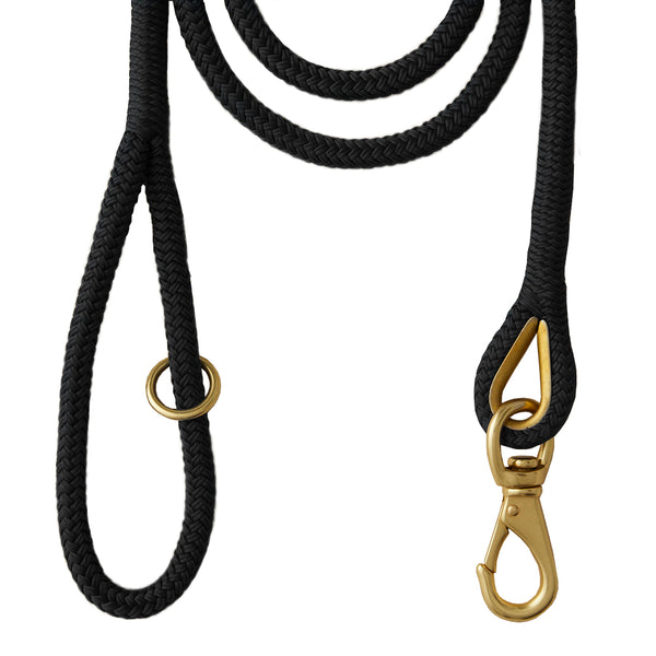 First Mate Leash in Black