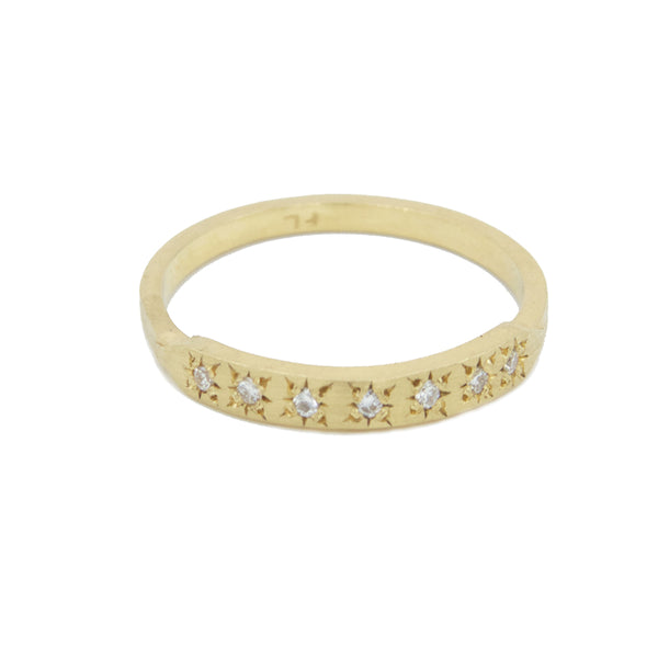 Star Set Tuile Ring