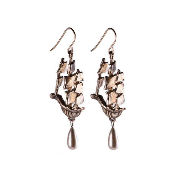 HMS Endeavor Earrings