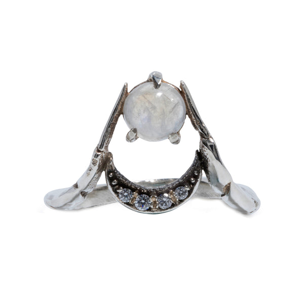 Moon Claw Ring