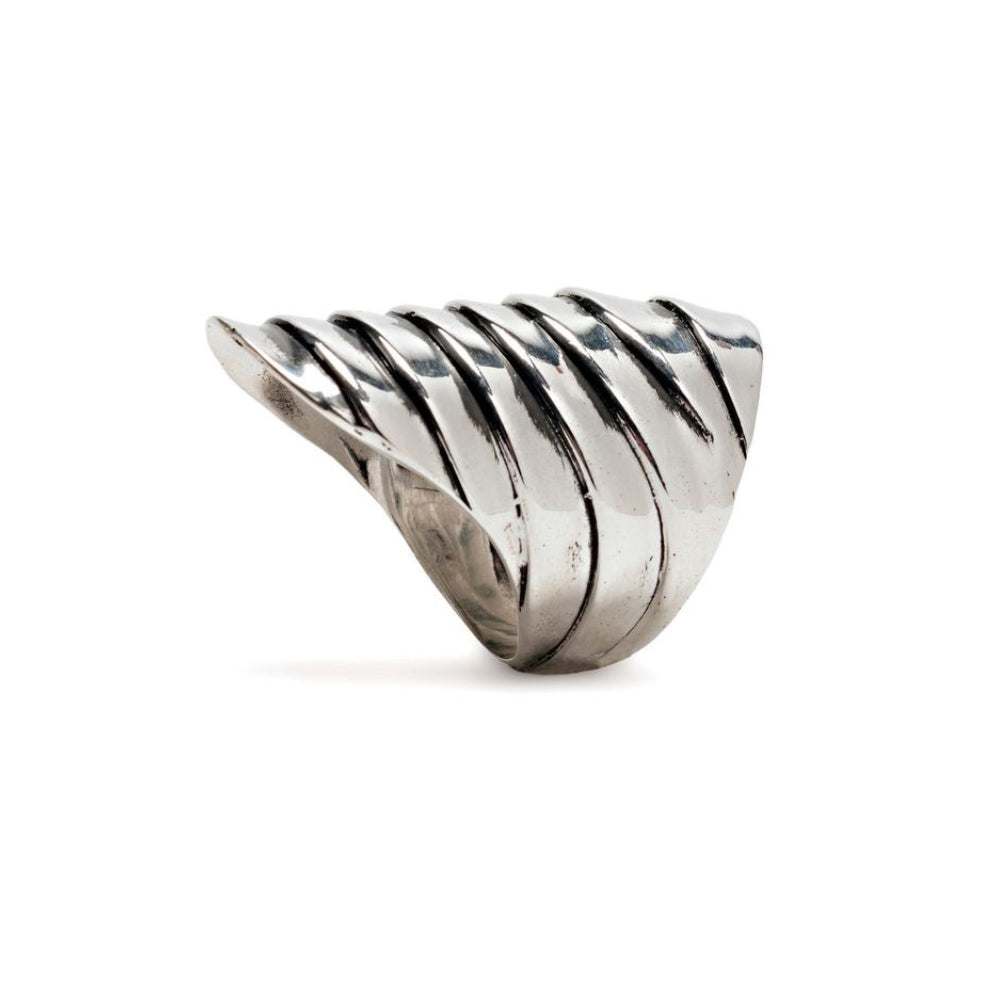 Silver Scale Ring