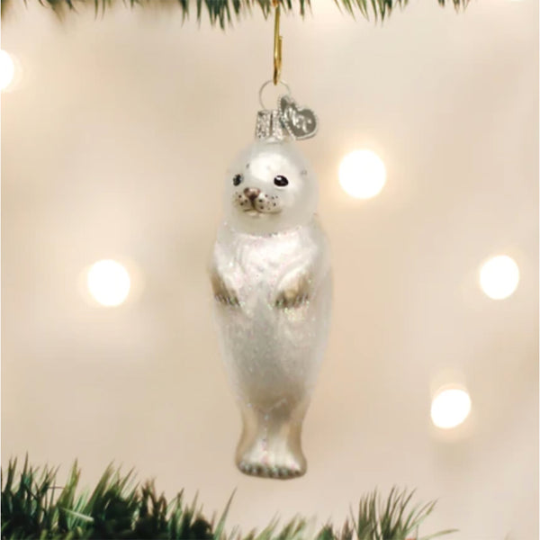 Seal Pup Ornament