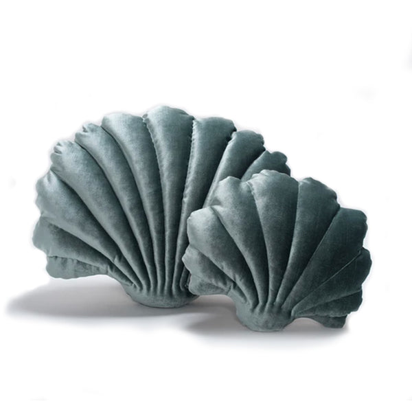 Clam Shell Pillow Fog