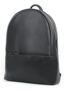 Felici Eco Leather Front Zip Pocket Backpack