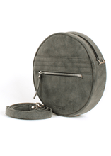Load image into Gallery viewer, Ronda Blitz Round Eco Suede Bag