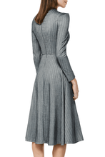 Load image into Gallery viewer, Epaulette Sleeve Dress
