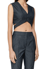 Load image into Gallery viewer, Striped Cropped Vest