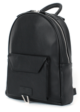 Load image into Gallery viewer, Vendi S Eco Leather Front Pocket Backpack