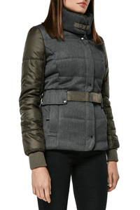Charlie Fitted Waterproof Jacket — Olive