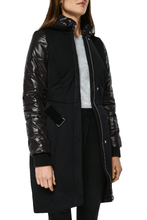 Load image into Gallery viewer, Vera Tailored Coat — Black
