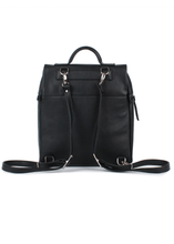 Load image into Gallery viewer, Levin S Eco Leather Zip Front Backpack