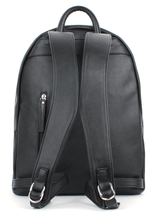 Load image into Gallery viewer, Felici Eco Leather Front Zip Pocket Backpack