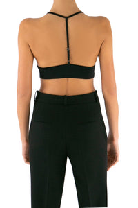 Cropped Cami - Black