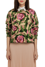 Load image into Gallery viewer, Camouflage Floral Sweatshirt