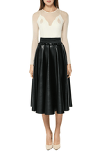 Load image into Gallery viewer, Eco Leather Skirt