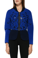 Load image into Gallery viewer, Bird Bomber Jacket