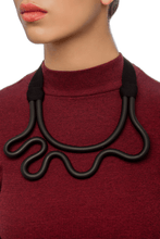 Load image into Gallery viewer, Apfel Curvy Ribbon Necklace