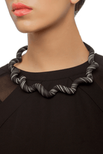 Load image into Gallery viewer, Zebra Twist Necklace