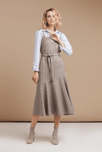 Load image into Gallery viewer, Striped Slip Dress